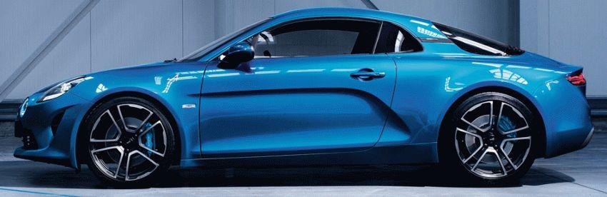 sport kary kupe renault  | renault alpine a 110 2 | Renault Alpine А 110 (Рено Альпина А 110) 2017 2018 | Renault Alpine