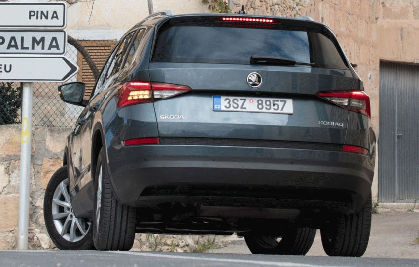 krossovery skoda  | skoda kodiak test drayv 3 | Škoda Kodiak (Шкода Кодиак) 2017 2018 | Тест драйв Škoda Skoda Kodiak