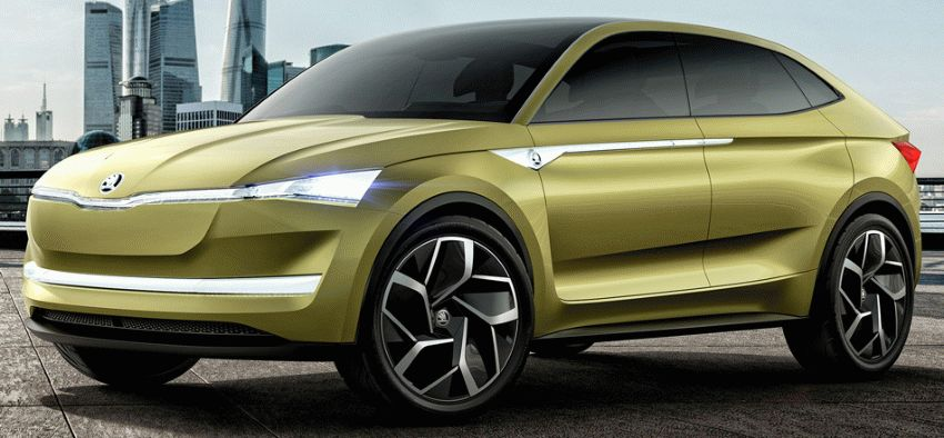koncept avto  | skoda vision e yeektro koncept 1 | Škoda Vision E Concept (Шкода Версион Е) электро концепт | Skoda Vision E