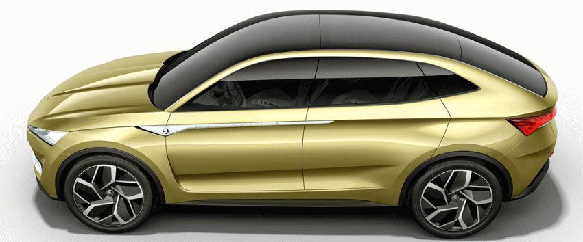 koncept avto  | skoda vision e yeektro koncept 2 | Škoda Vision E Concept (Шкода Версион Е) электро концепт | Skoda Vision E
