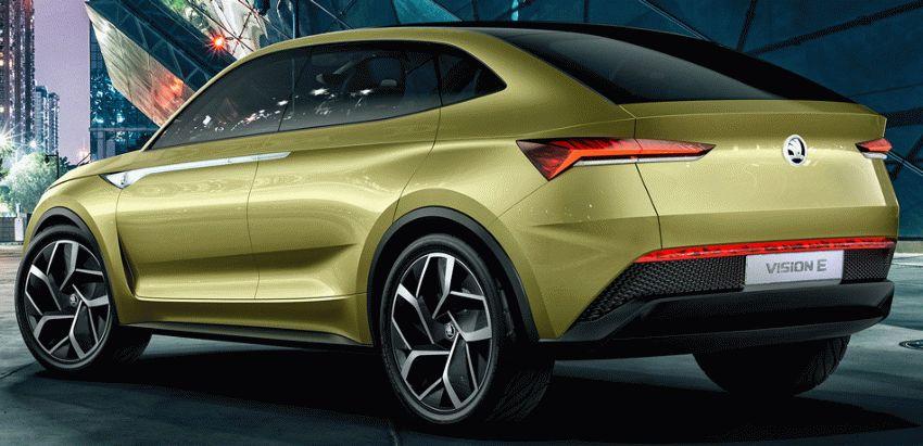 koncept avto  | skoda vision e yeektro koncept 3 | Škoda Vision E Concept (Шкода Версион Е) электро концепт | Skoda Vision E