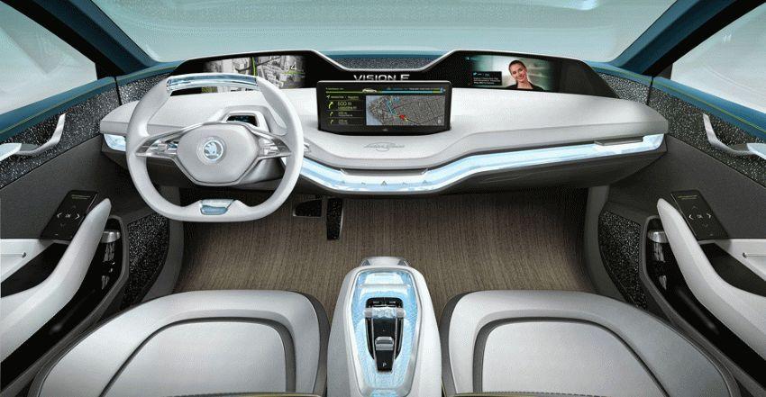 koncept avto  | skoda vision e yeektro koncept 4 | Škoda Vision E Concept (Шкода Версион Е) электро концепт | Skoda Vision E