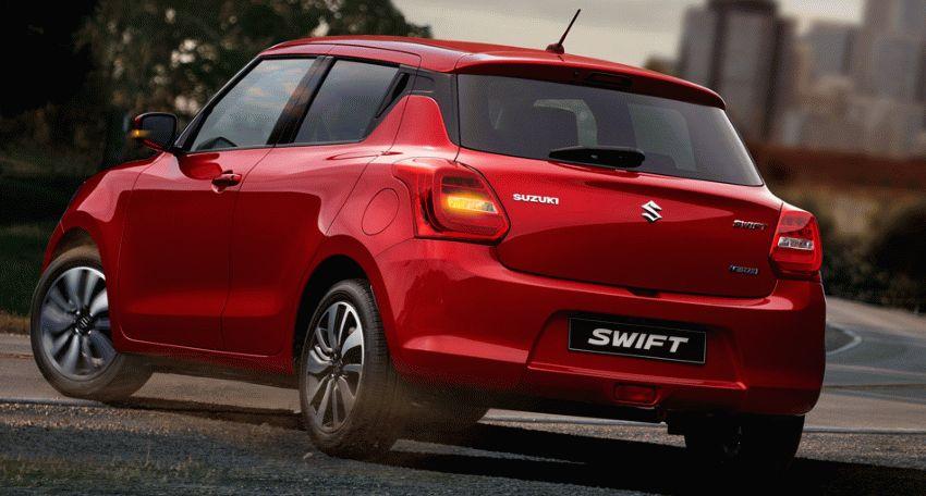 khyechbek suzuki  | suzuki swift 2017 2018 3 | Suzuki Swift (Сузуки Свифт) 2017 2018 | Suzuki Swift
