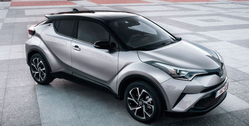 krossovery toyota  | toyota c hr 1 | Toyota C HR (Тойота С ХР) тест драйв | Toyota C HR