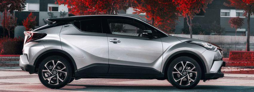 krossovery toyota  | toyota c hr 2 | Toyota C HR (Тойота С ХР) тест драйв | Toyota C HR