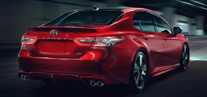 sedan toyota  | toyota camry 4 | Toyota Camry (Тойота Камри) 2017 2018 | Toyota Camry