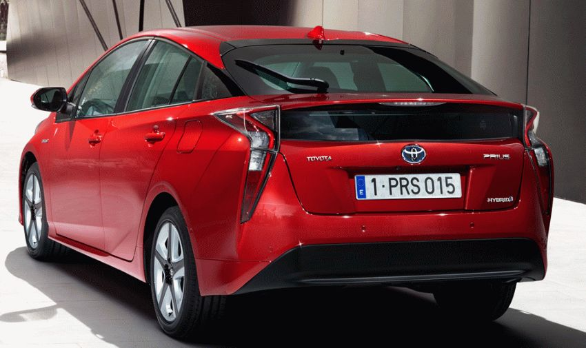 khyechbek toyota  | toyota prius 2017 2018 3 | Toyota Prius (Тойота Приус) 2017 2018 | Тест драйв Toyota Toyota Prius