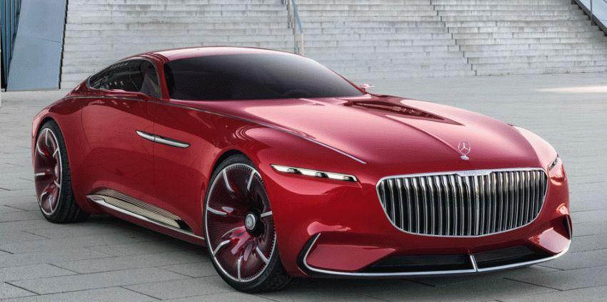 koncept avto  | vision mercedes maybach 6 1 | Vision Mercedes Maybach 6 (Вижн Мерседес Майбах 6) | Mercedes Maybach