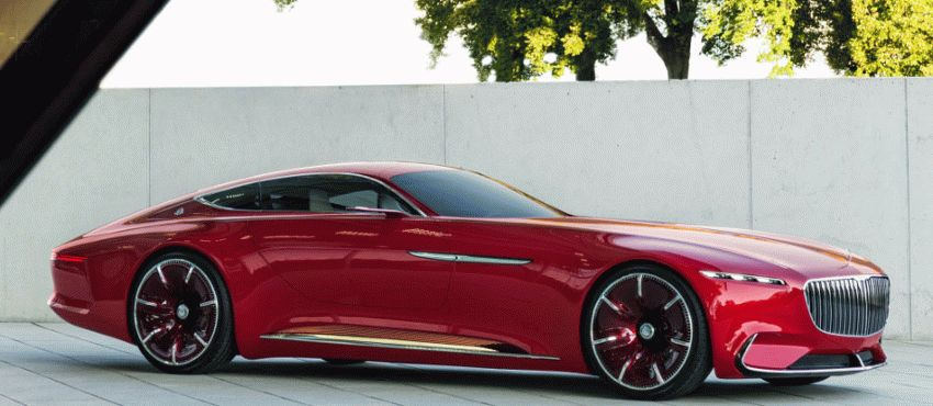 koncept avto  | vision mercedes maybach 6 2 | Vision Mercedes Maybach 6 (Вижн Мерседес Майбах 6) | Mercedes Maybach