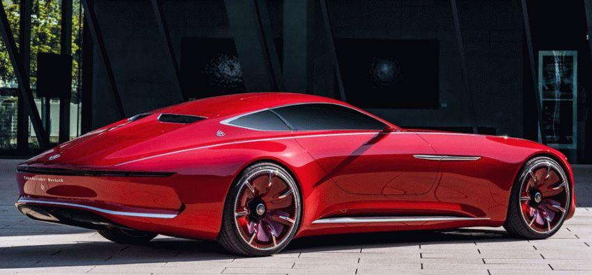 koncept avto  | vision mercedes maybach 6 4 | Vision Mercedes Maybach 6 (Вижн Мерседес Майбах 6) | Mercedes Maybach