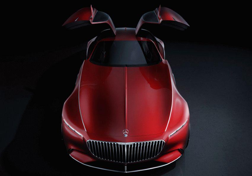 koncept avto  | vision mercedes maybach 6 7 | Vision Mercedes Maybach 6 (Вижн Мерседес Майбах 6) | Mercedes Maybach