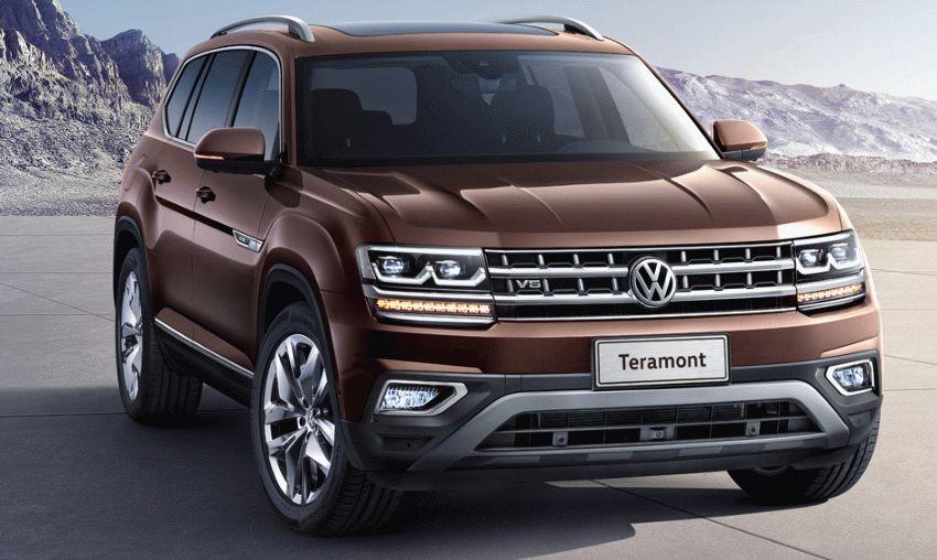 krossovery volkswagen  | volkswagen teramont 2017 2018 1 | Volkswagen Teramont (Фольксваген Терамонт) 2017 2018 | Volkswagen Teramont