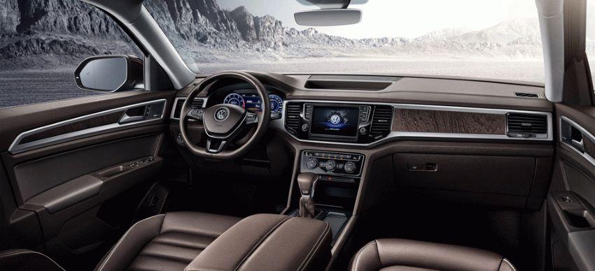 krossovery volkswagen  | volkswagen teramont 2017 2018 4 | Volkswagen Teramont (Фольксваген Терамонт) 2017 2018 | Volkswagen Teramont