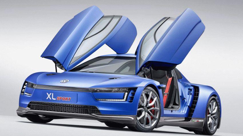 koncept avto  | volkswagen xl1 sport 2 | VW Golf VIII (Фольксваген Гольф VIII) | Volkswagen Golf