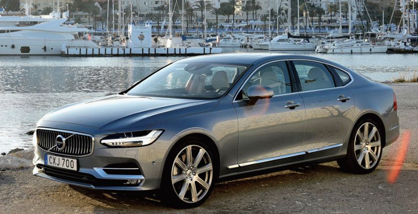sedan volvo  | volvo s90 test drayv 1 | Volvo S90 (Вольво С90) | Volvo S90