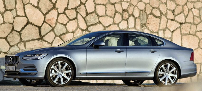 sedan volvo  | volvo s90 test drayv 2 | Volvo S90 (Вольво С90) | Volvo S90