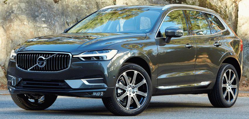 vnedorozhniki volvo  | volvo xc60 1 | Volvo XC60 (Вольво ХС60) 2017 2018 | Volvo XC60