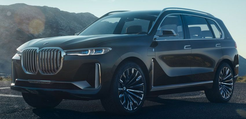 koncept avto  | bmw x7 concept 1 | BMW X7 (БМВ Икс7) Concept | BMW X7