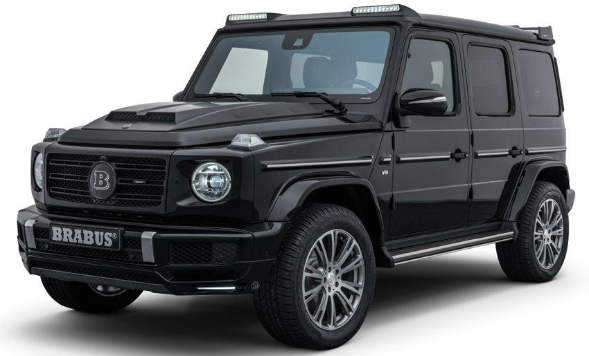 vnedorozhniki tyuning mercedes benz  | brabus porabotal s mersedes gelendvagen 1 | Brabus Mercedes G500 «Мерседес Гелендваген Джи500» | Mercedes Benz G500 Brabus