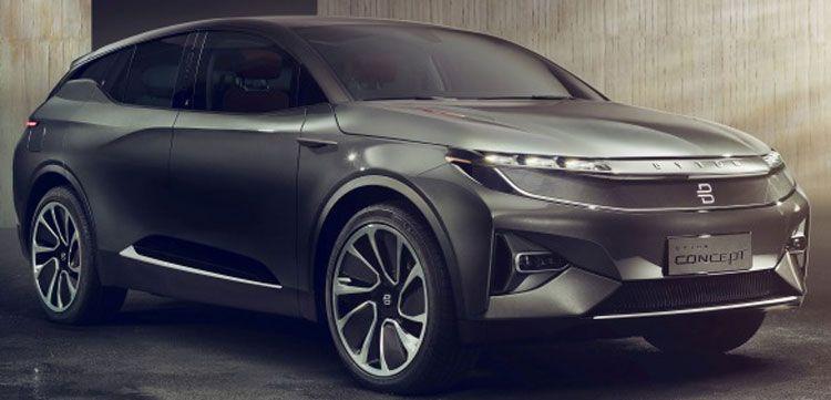 koncept avto  | byton 2020 1 | Серийный электрокроссовер Byton 2020 | Byton