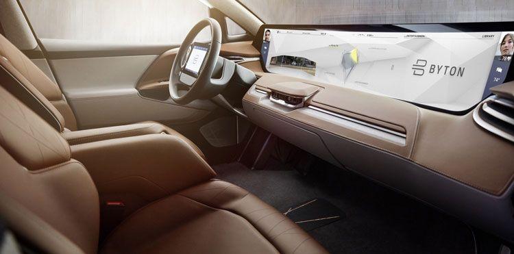 koncept avto  | byton 2020 4 | Серийный электрокроссовер Byton 2020 | Byton