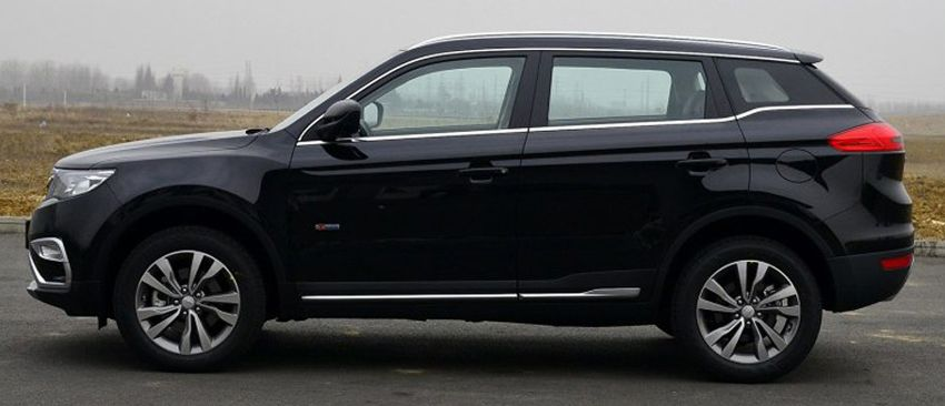 krossovery geely  | geely atlas test drayv 13 | Geely Atlas (Джили Атлас) тест драйв | Тест драйв Geely Geely Atlas