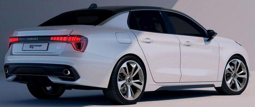 koncept avto geely  | geely volvo pokazala novyy shikarnyy sedan lynk co 03 3 | Geely Volvo показала новый шикарный седан Lynk & Co 03 | Lynk & Co 03