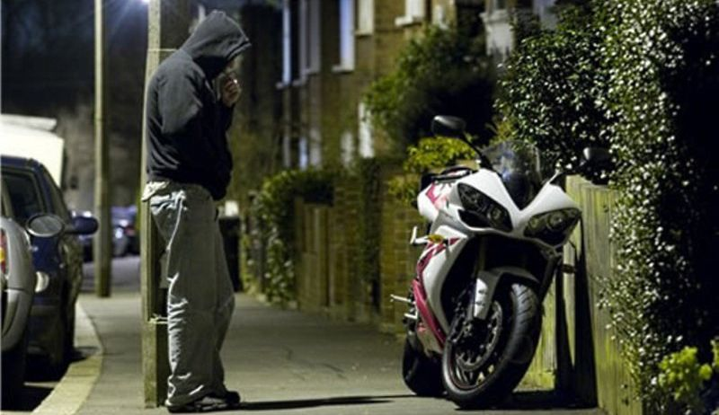 praktika  | kak uberech motocikl ot ugona 6 | Как уберечь мотоцикл от угона | Уберечь мотоцикл от угона