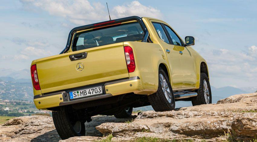 pikapy mercedes benz  | mercedes benz pickup x class 3 | Mercedes Benz Pickup X Class (Мерседес Бенц пикап Х Класса) | Mercedes Benz X Class