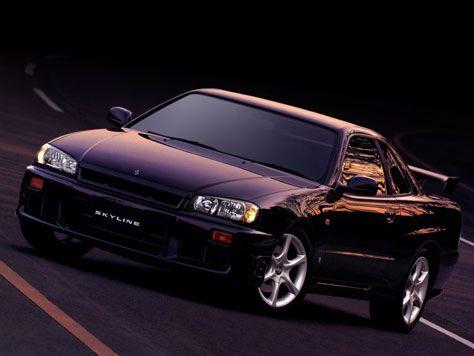 istoriya zarubezhnogo avtoproma  | nissan skyline gt 34 1 | История поколений Nissan GT R (Нассан ДжТи Р) | Nissan GT R