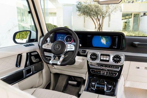 vnedorozhniki mercedes benz  | novyy mercedes amg g 63 2018 4 | Новый Mercedes AMG G 63 (Мерседес АМ Джи 63) 2018 2019 | Mercedes Benz AMG G