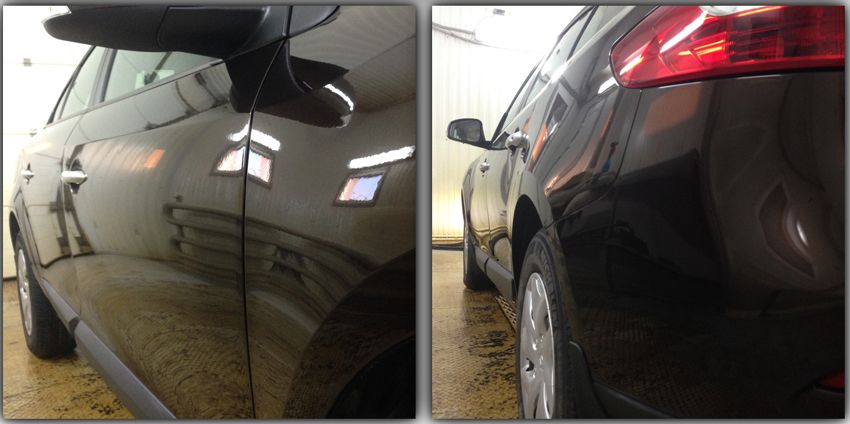 praktika  | pokrytie kuzova avto zhidkim steklom 2 | Покрытие кузова авто жидким стеклом | Жидким стеклом