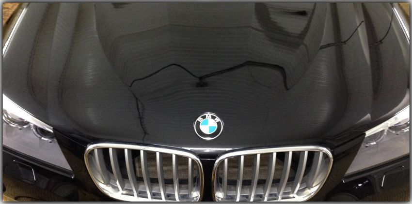 praktika  | pokrytie kuzova avto zhidkim steklom 3 | Покрытие кузова авто жидким стеклом | Жидким стеклом