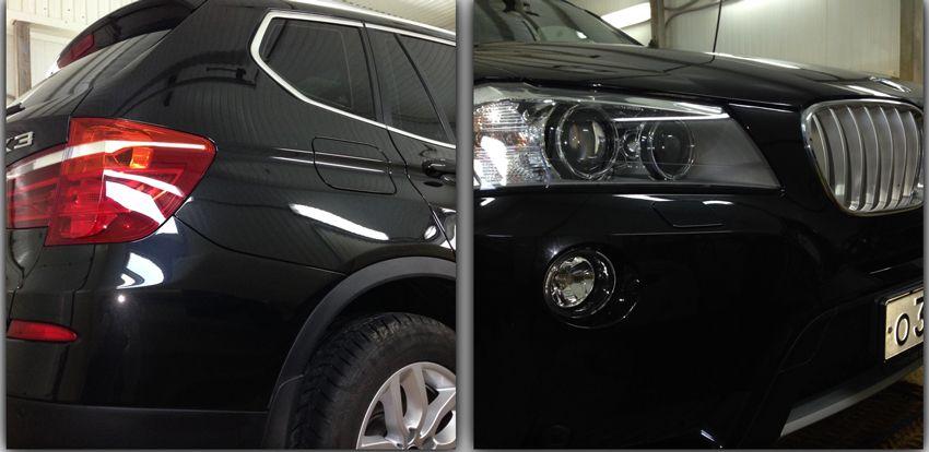 praktika  | pokrytie kuzova avto zhidkim steklom 4 | Покрытие кузова авто жидким стеклом | Жидким стеклом