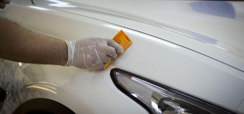 praktika  | pokrytie kuzova avto zhidkim steklom 7 | Покрытие кузова авто жидким стеклом | Жидким стеклом