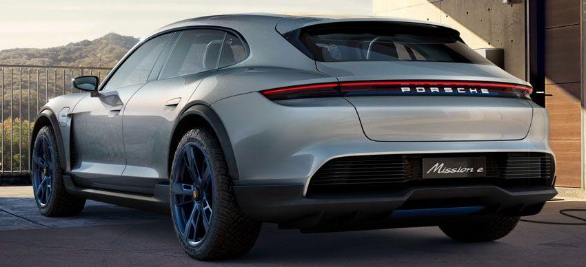 koncept avto  | porsche mission e cross turismo 3 | Porsche Mission E Cross Turismo (Порше Миссия Е Кросс Туризмо) | Porsche Mission