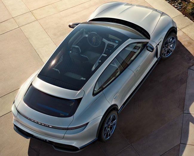 koncept avto  | porsche mission e cross turismo 6 | Porsche Mission E Cross Turismo (Порше Миссия Е Кросс Туризмо) | Porsche Mission