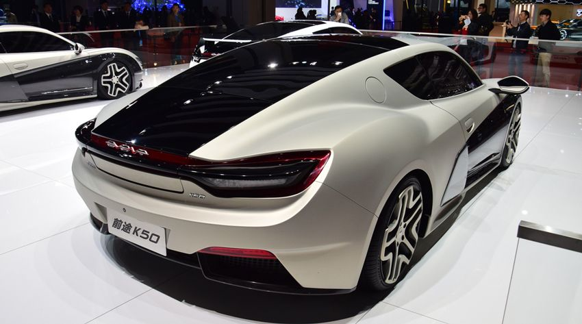 yelektromobili  | qiantu k50 kitayskiy otvet na audi r8 e tron 3 | Qiantu K50, китайский ответ на Audi R8 e tron | Qiantu K50