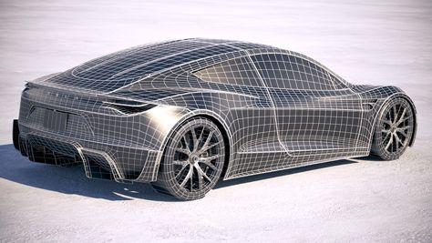 koncept avto  | tesla roadster 3 | Удивительные факты о новой Tesla Roadster (Тесла Родстер) | Tesla Roadster