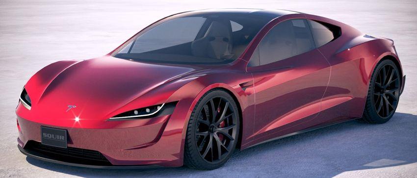 koncept avto  | tesla roadster 5 | Удивительные факты о новой Tesla Roadster (Тесла Родстер) | Tesla Roadster