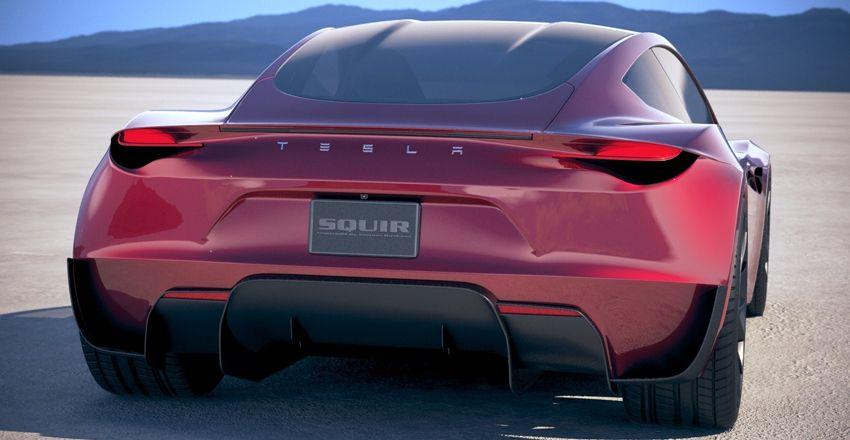 koncept avto  | tesla roadster 6 | Удивительные факты о новой Tesla Roadster (Тесла Родстер) | Tesla Roadster