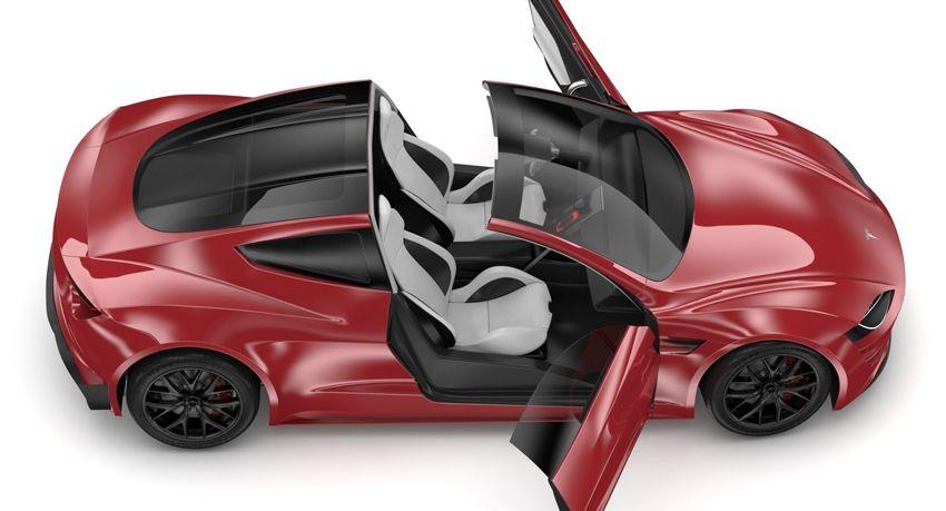 koncept avto  | tesla roadster 7 | Удивительные факты о новой Tesla Roadster (Тесла Родстер) | Tesla Roadster