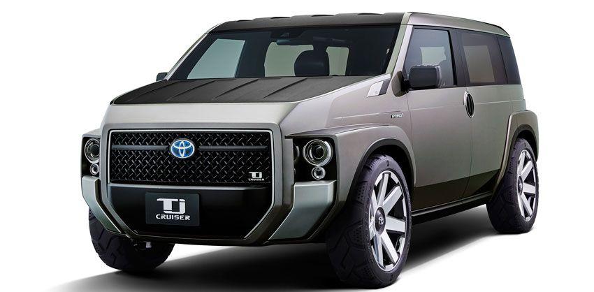 koncept avto  | toyota tj cruiser 1 | Toyota Tj Cruiser (Тойота Т ди Круизер) | Toyota Tj Cruiser