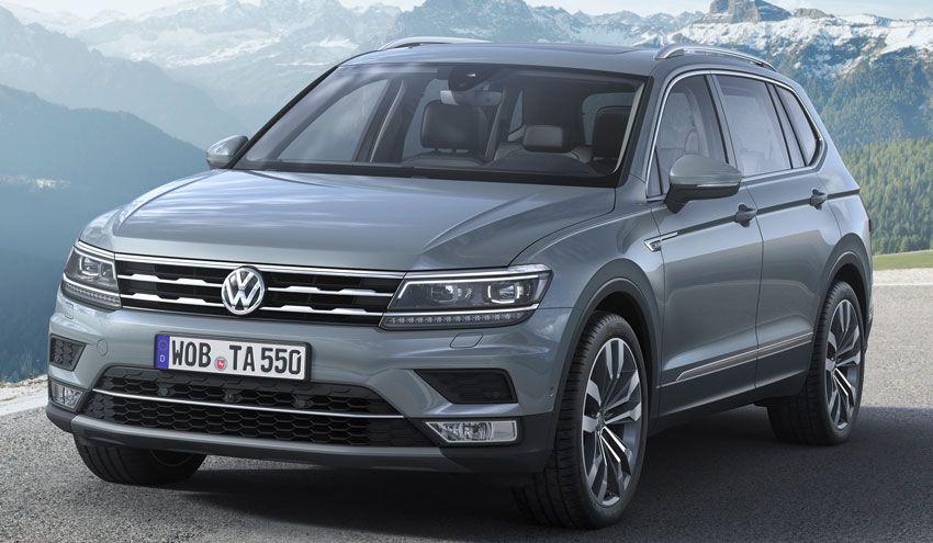 krossovery volkswagen  | volkswagen tiguan allspace 1 | Volkswagen Tiguan Allspace (Фольксваген Тигуан Аллспэйс) | Тест драйв Volkswagen Volkswagen Tiguan