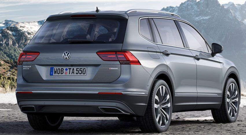 krossovery volkswagen  | volkswagen tiguan allspace 3 | Volkswagen Tiguan Allspace (Фольксваген Тигуан Аллспэйс) | Тест драйв Volkswagen Volkswagen Tiguan
