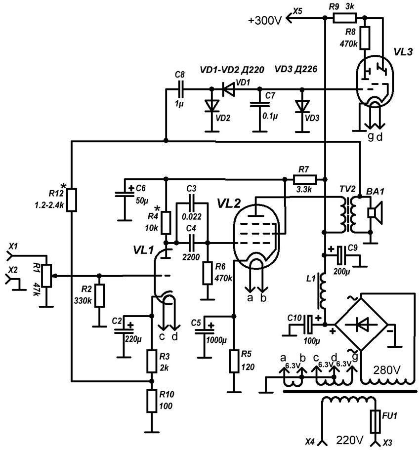 audiofiliya  | 6p14 | Первый ламповый усилитель | Ламповый усилитель
