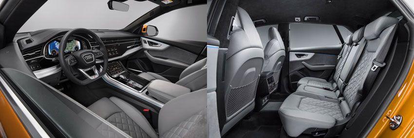 krossovery audi    audi q8 test drayv 5   Audi Q8 (Ауди Ку8) тест драйв   Тест драйвAudi