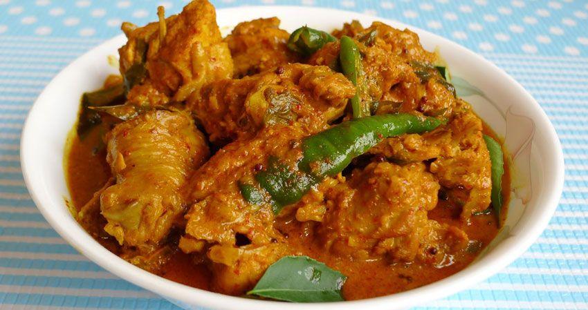 kulinariya    cyplenok karri 2   Цыпленок карри   Мясные блюда