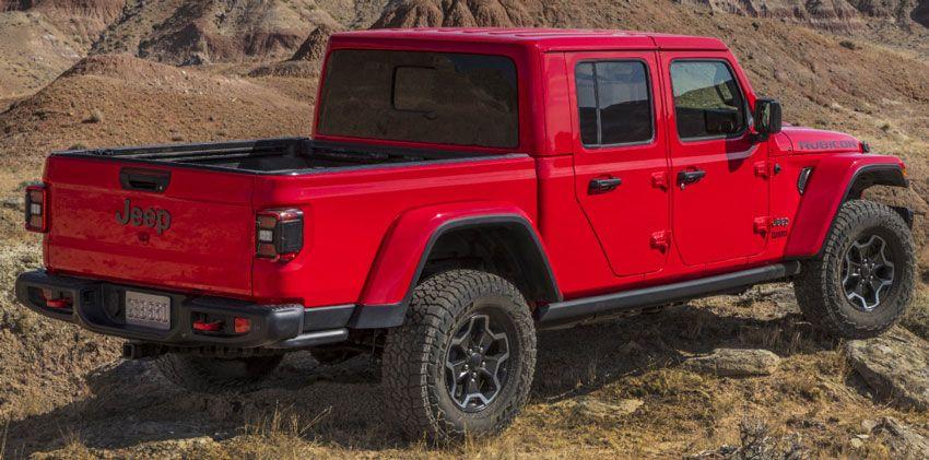 pikapy jeep  | jeep gladiator obzor 3 | Jeep Gladiator (Джип Гладиатор) | Jeep Gladiator