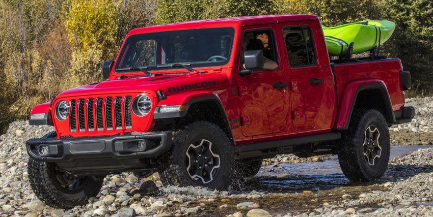pikapy jeep  | jeep gladiator obzor 7 | Jeep Gladiator (Джип Гладиатор) | Jeep Gladiator